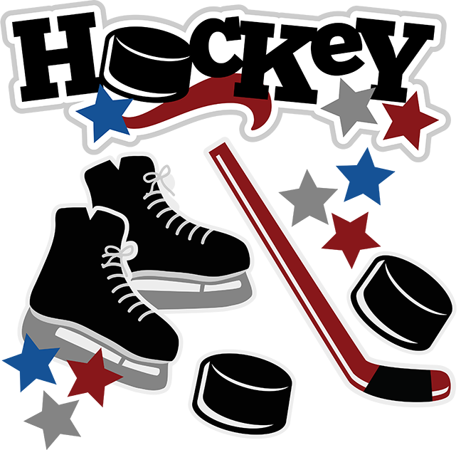 Clipart kids hockey. Svg sports files for