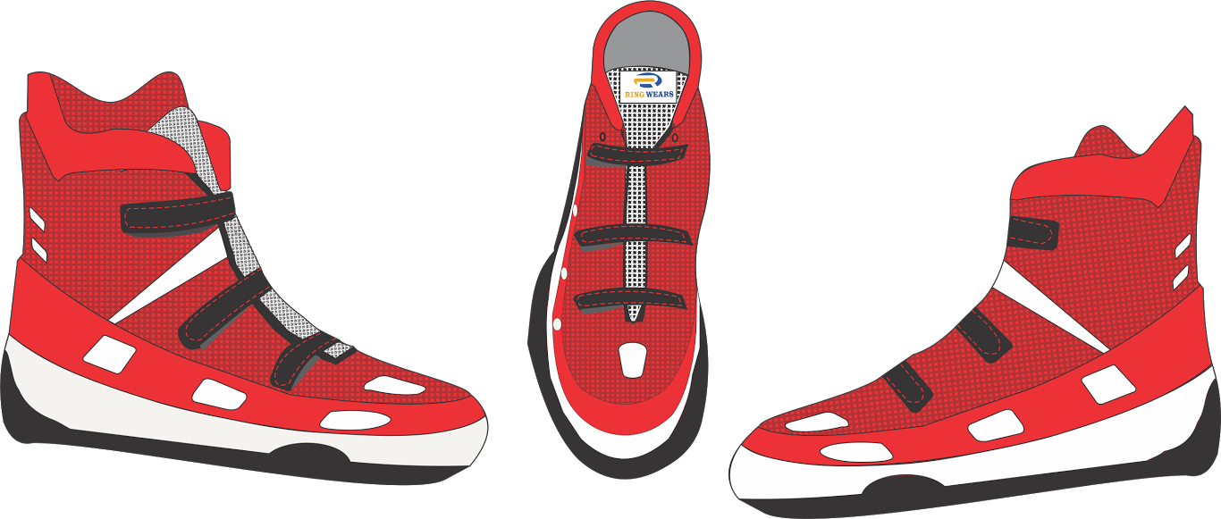 Clipart shoes baseball. Rw ringsportswears live boxingshoessample
