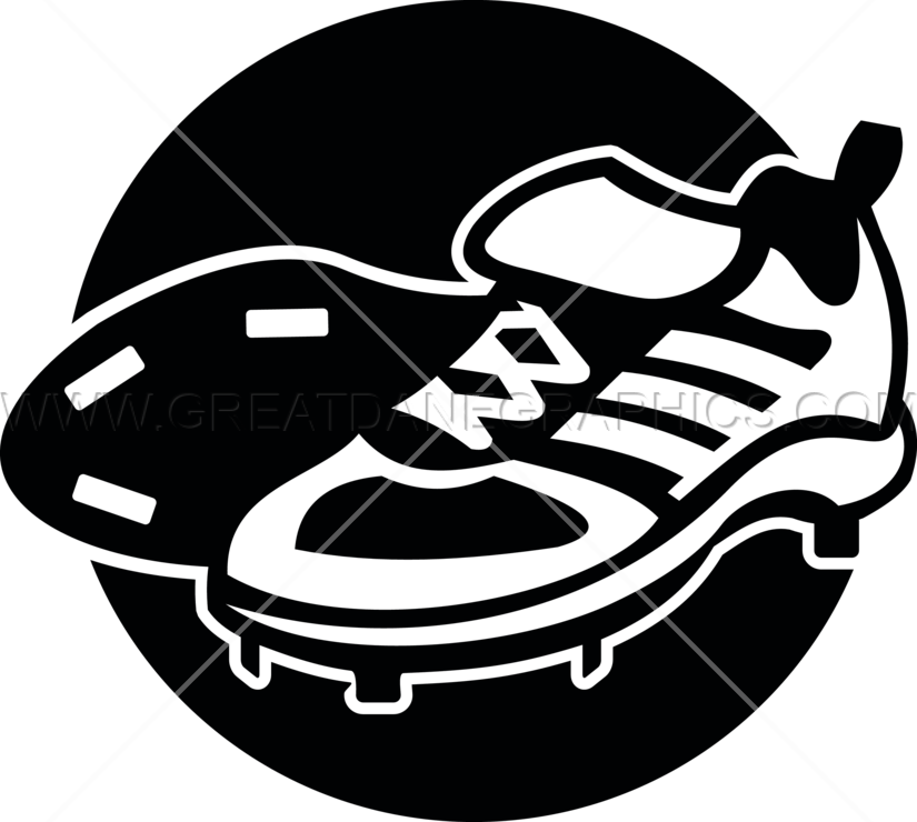 Clipart shoes baseball. Cleats production ready artwork