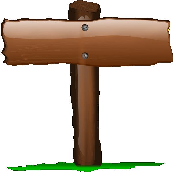 Clipart baseball sign. Wood clip art at