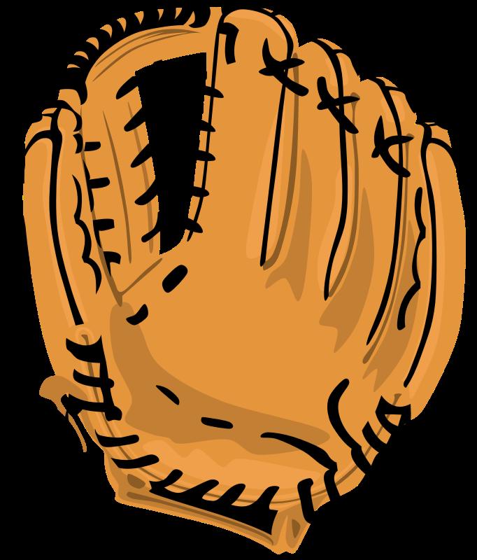 Glove medium image png. Clipart baseball sign