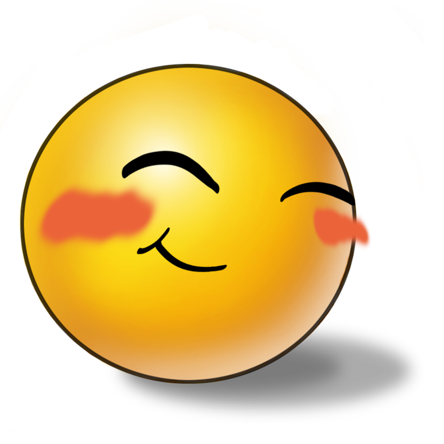Blushing emoticons smileys pinterest. Shy clipart shy face