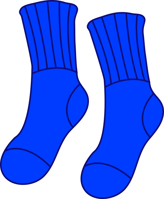 Pictures of socks clip. Clipart kids sock