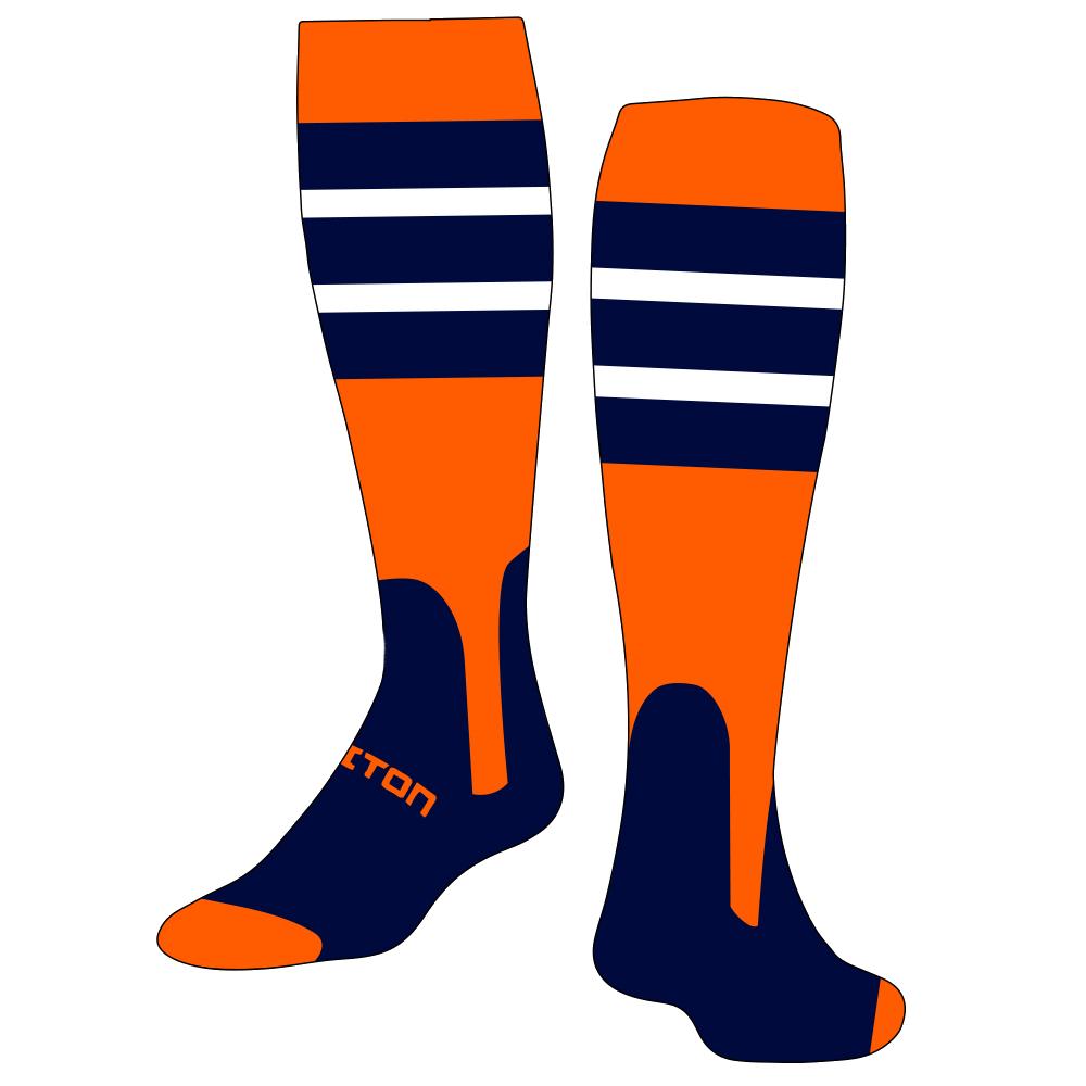 Custom socks triton sublimated. Gloves clipart sock