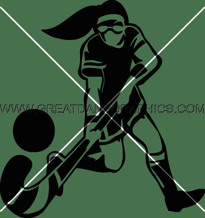 Clipart grass hockey. Female field production ready