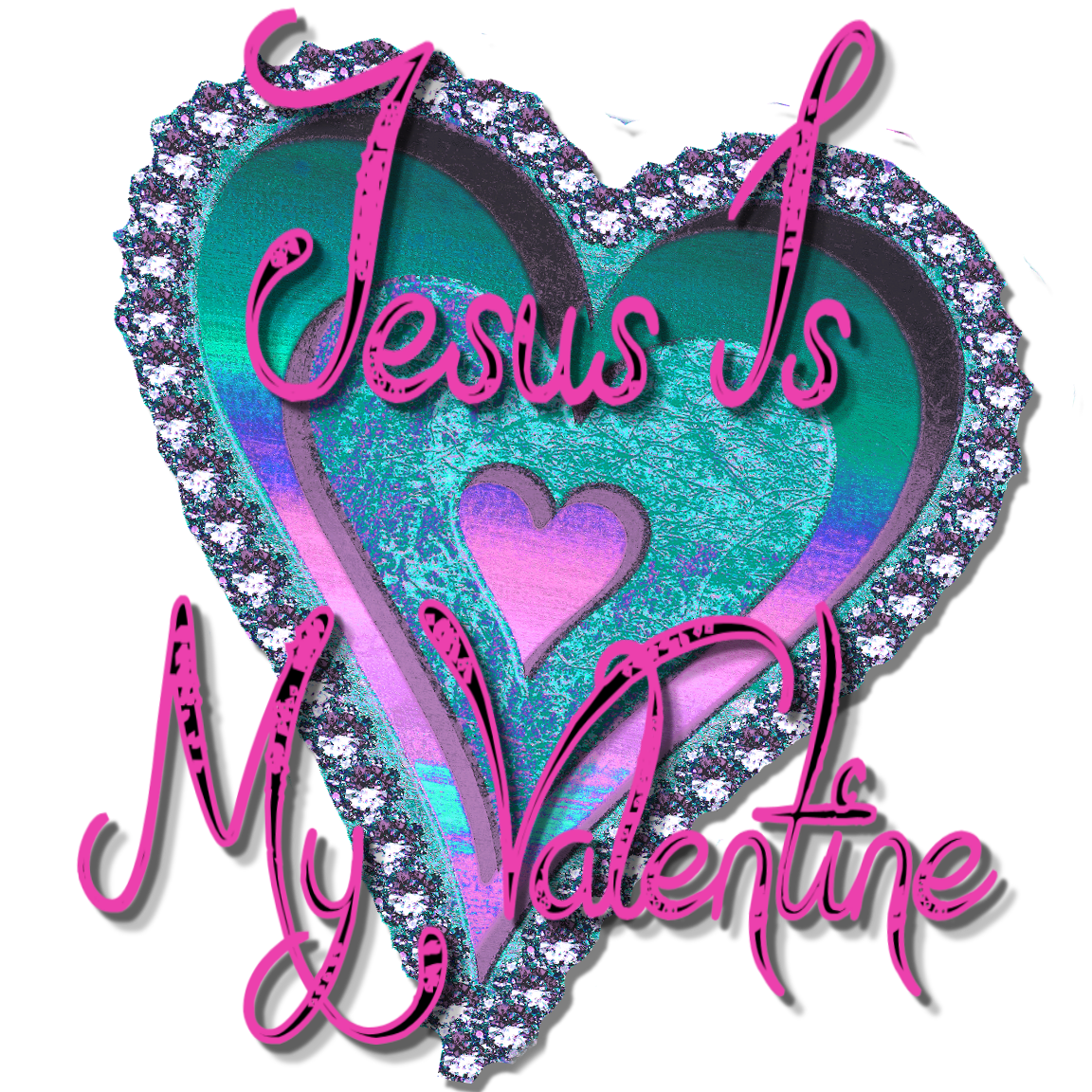 Christian images in my. Valentine clipart note