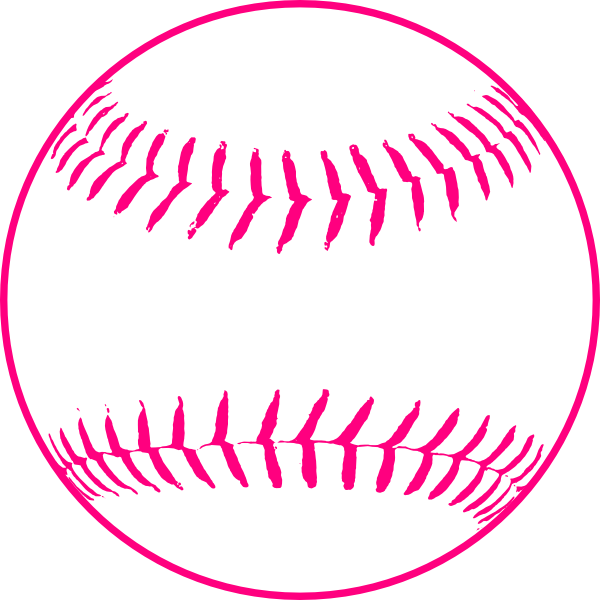 Hearts clipart softball. Pink download wallpaper