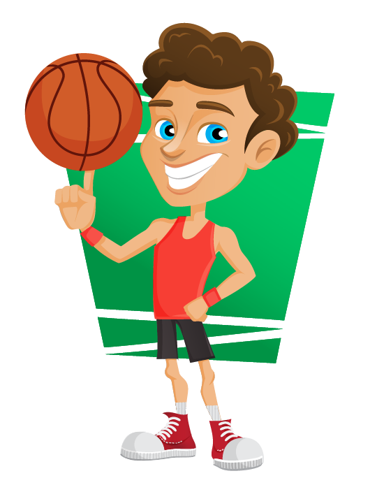 Free clipart basketball.  collection of players
