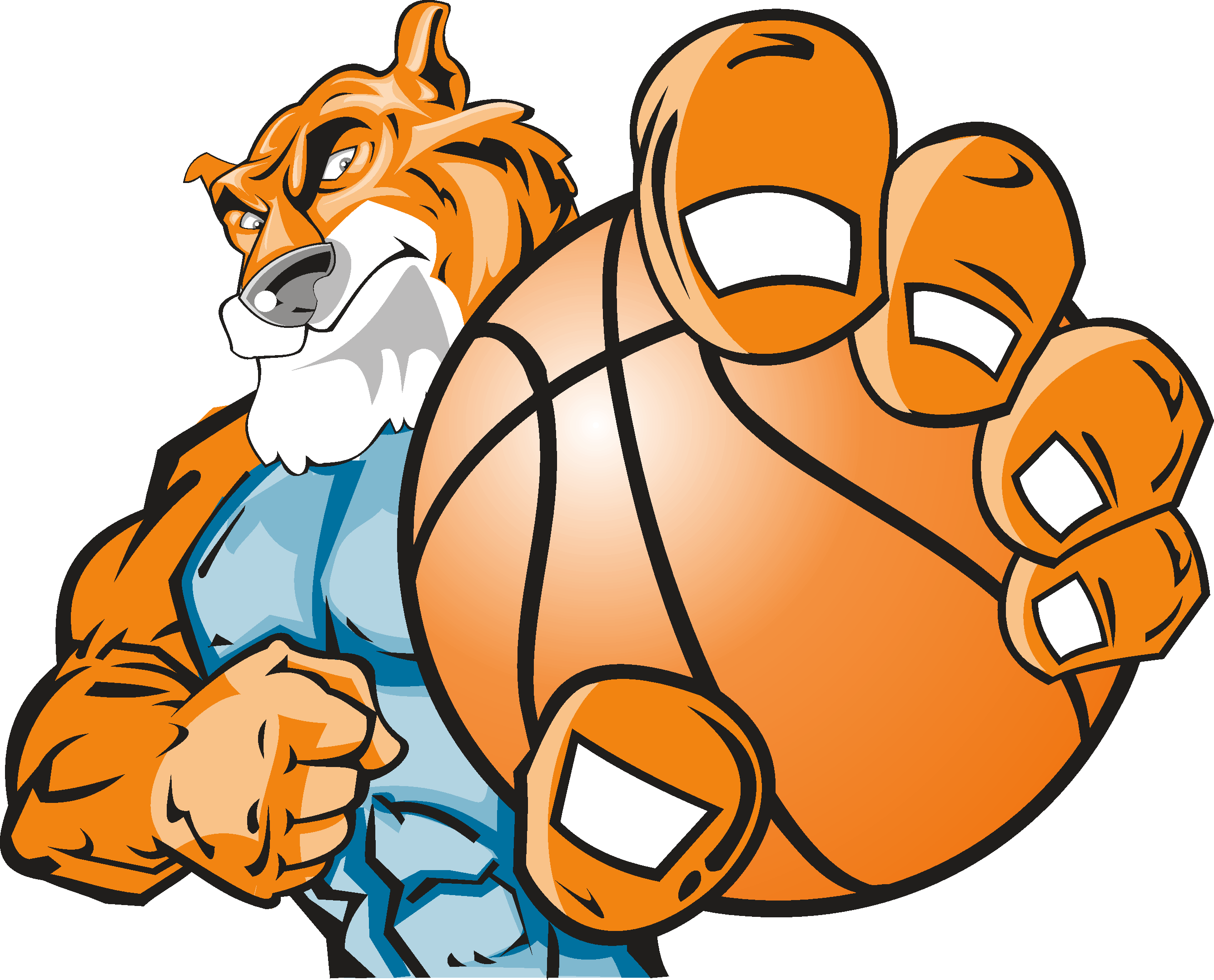 best mascot and. Dogs clipart basketball
