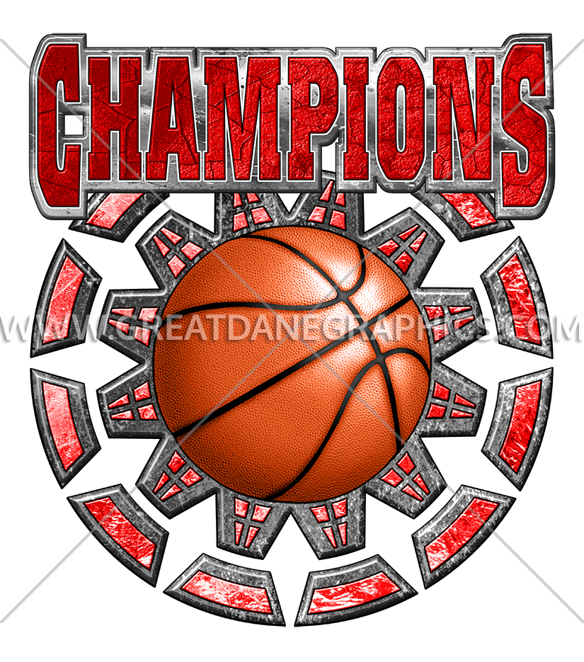 Champions production ready artwork. Youtube clipart basketball
