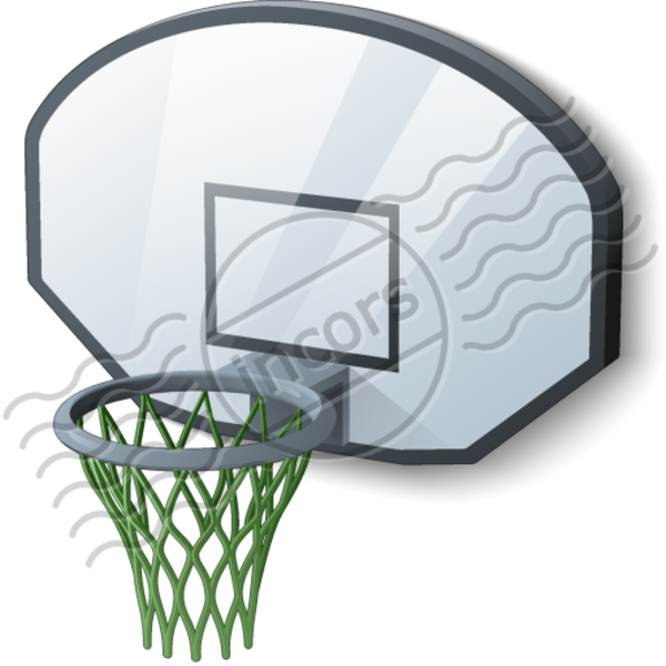 Basketball hoop free images. Goal clipart basket ball