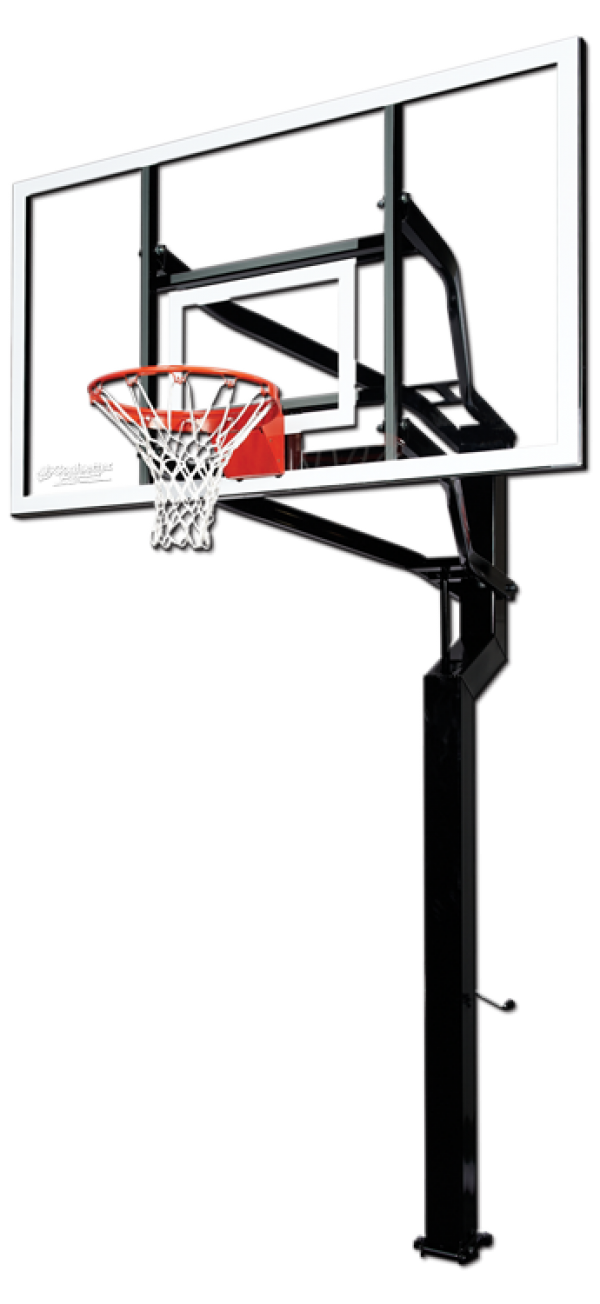 Hoop side view png. Ground clipart basketball