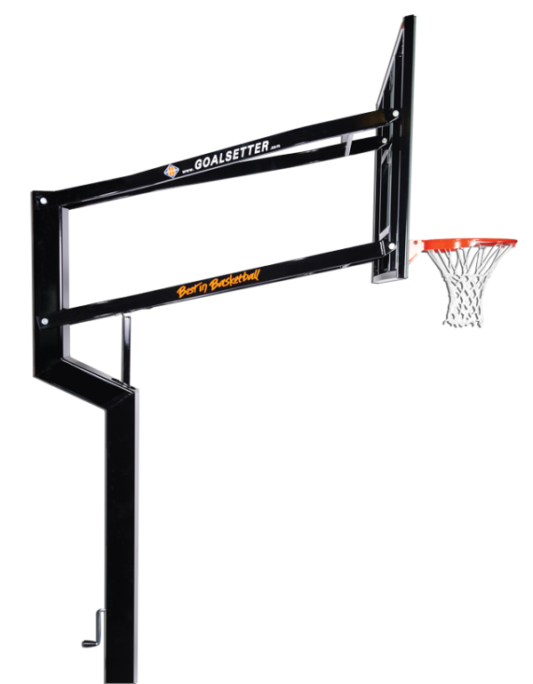 Ground clipart basketball. Hoop side view png
