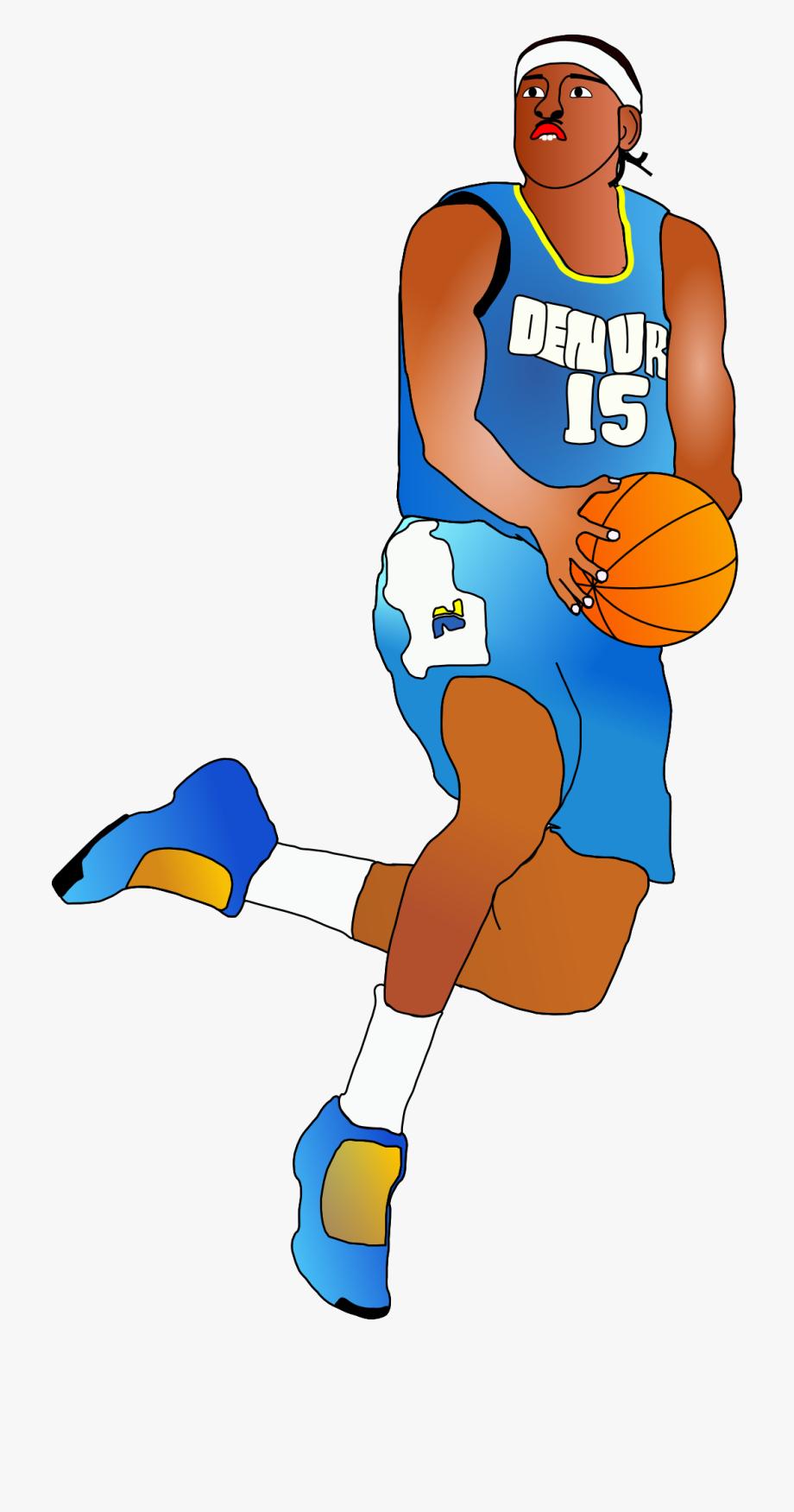 Clipart basketball basketball player. Animated cliparts nba