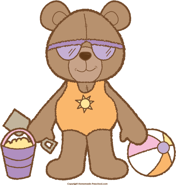 Preschool clipart bear. Teddy click to save