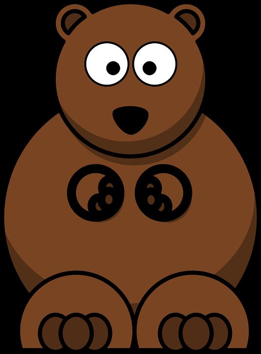 Bear cub shop of. Draw clipart cartoon drawing