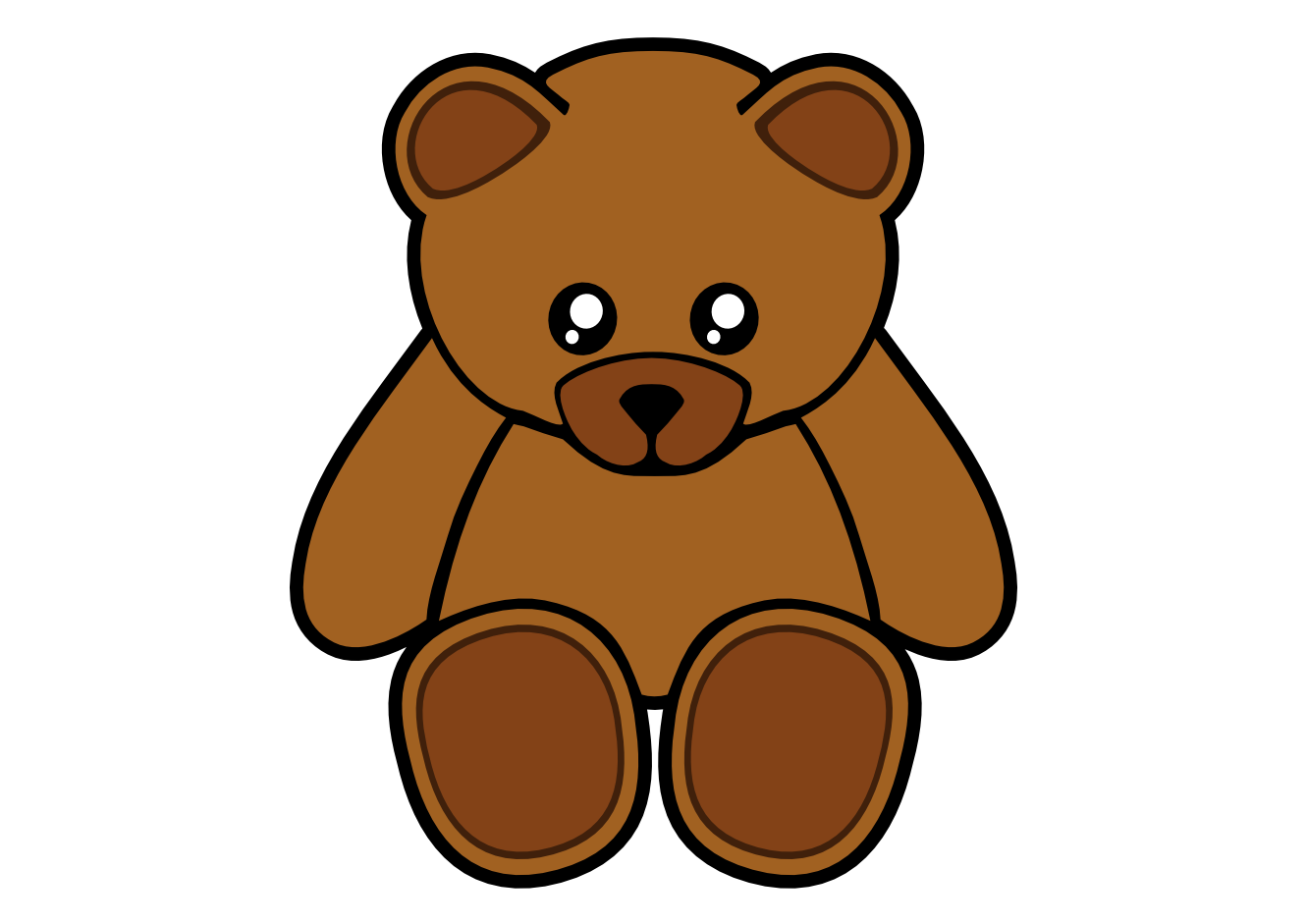 Clipart beach bear. Teddy images clipartmonk free