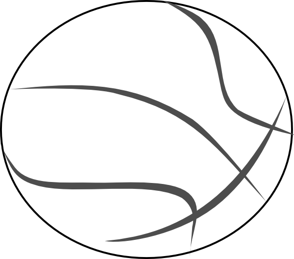 Clipart shield basketball. Outline clip art at