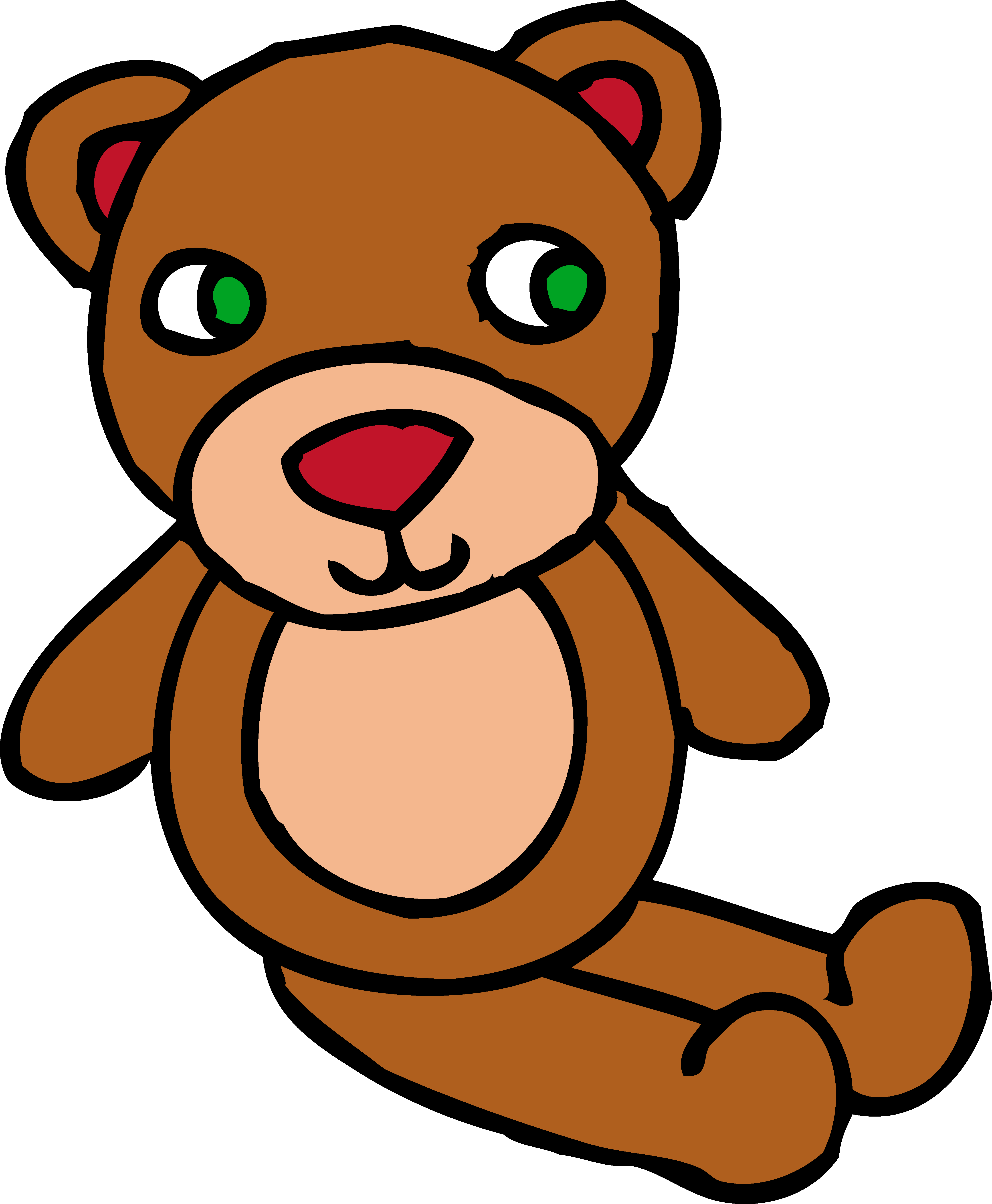 Toy pencil and in. Medical clipart teddy bear
