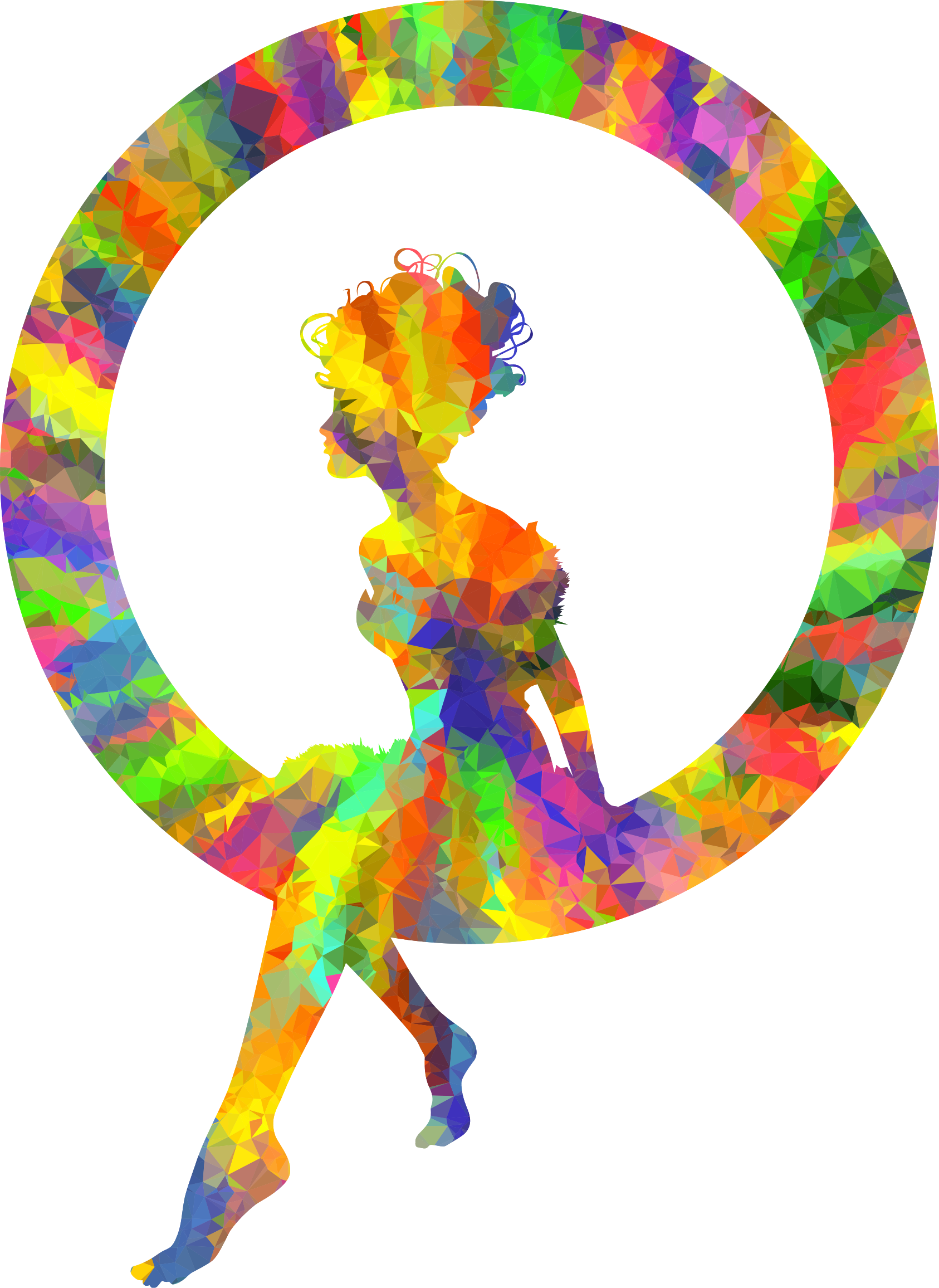 Clipart brain colorful. Silhouette at getdrawings com