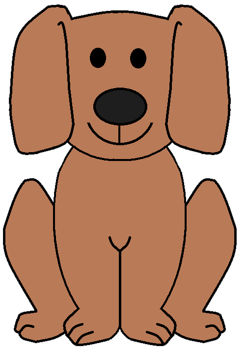 Pet clipart dogl. Dog pictures collection free