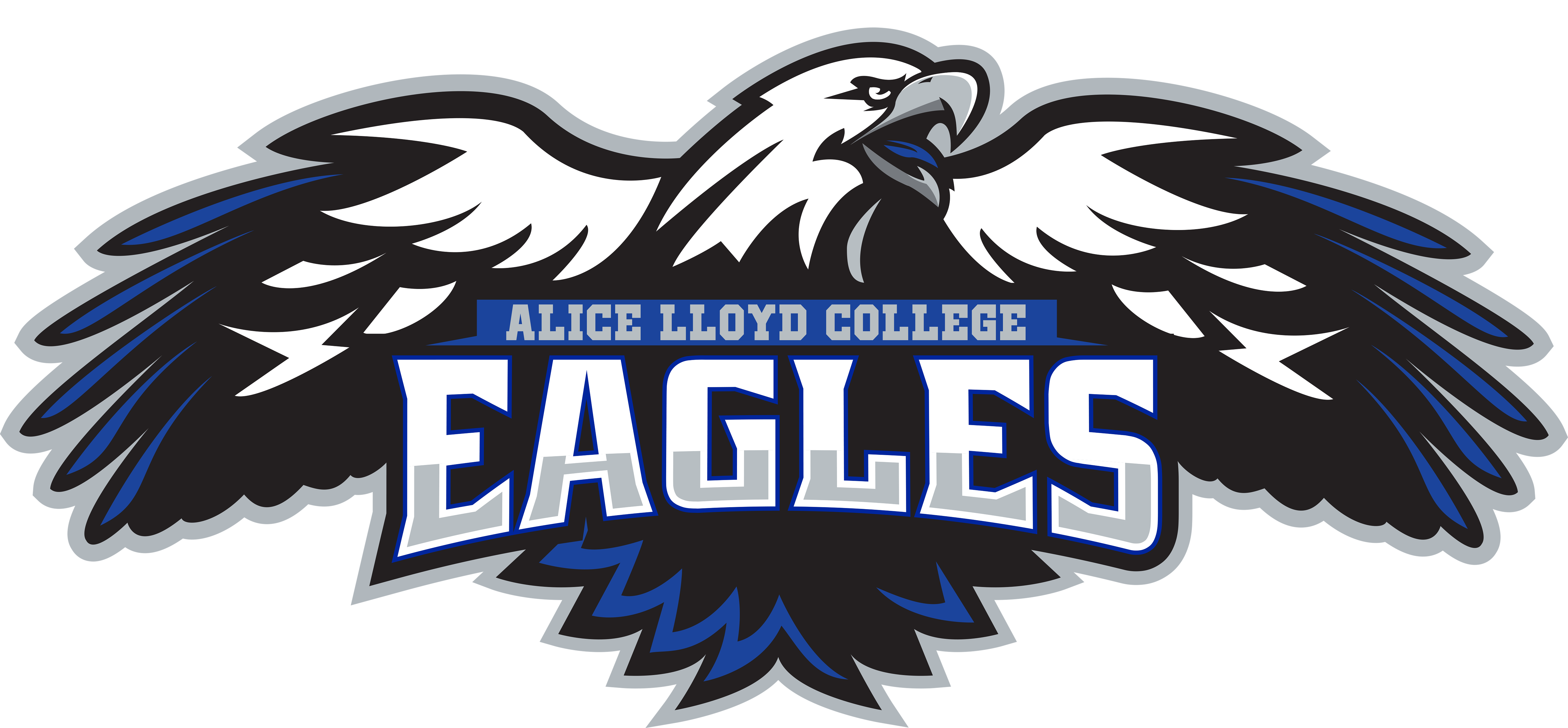 Eagle clipart cheerleader. Athletics alice lloyd college