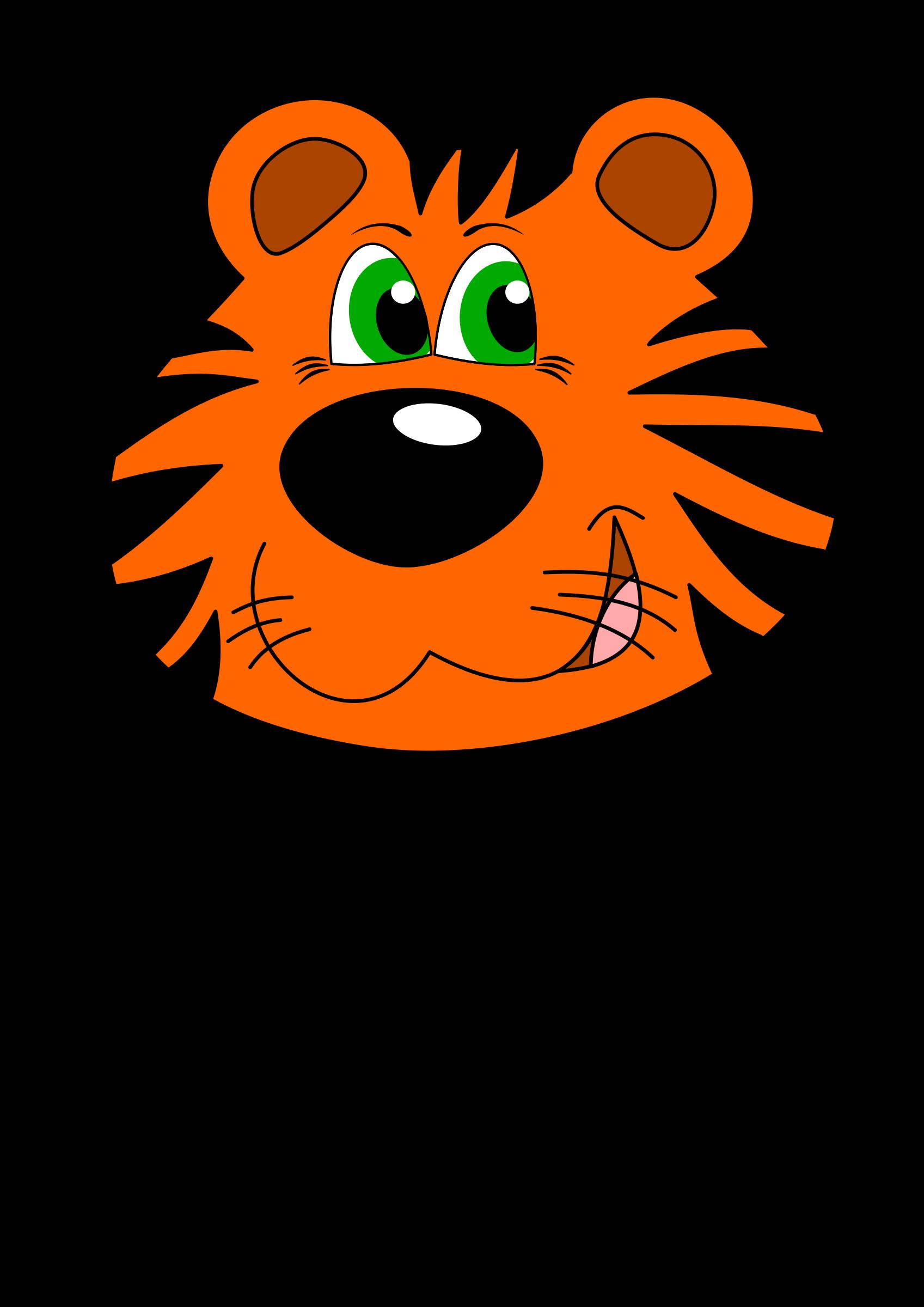 Fast clipart tiger. Pinart stock illustration face
