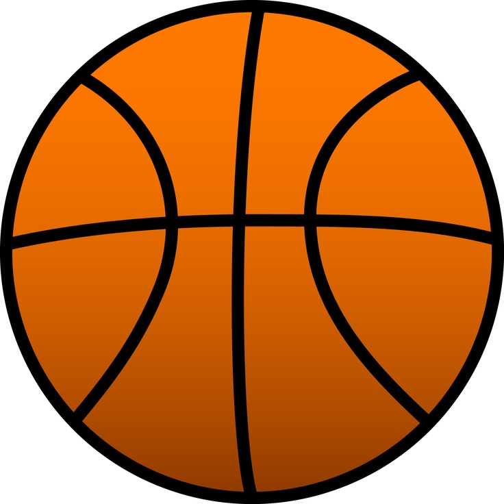 Free basketball face cliparts. Volleyball clipart orange