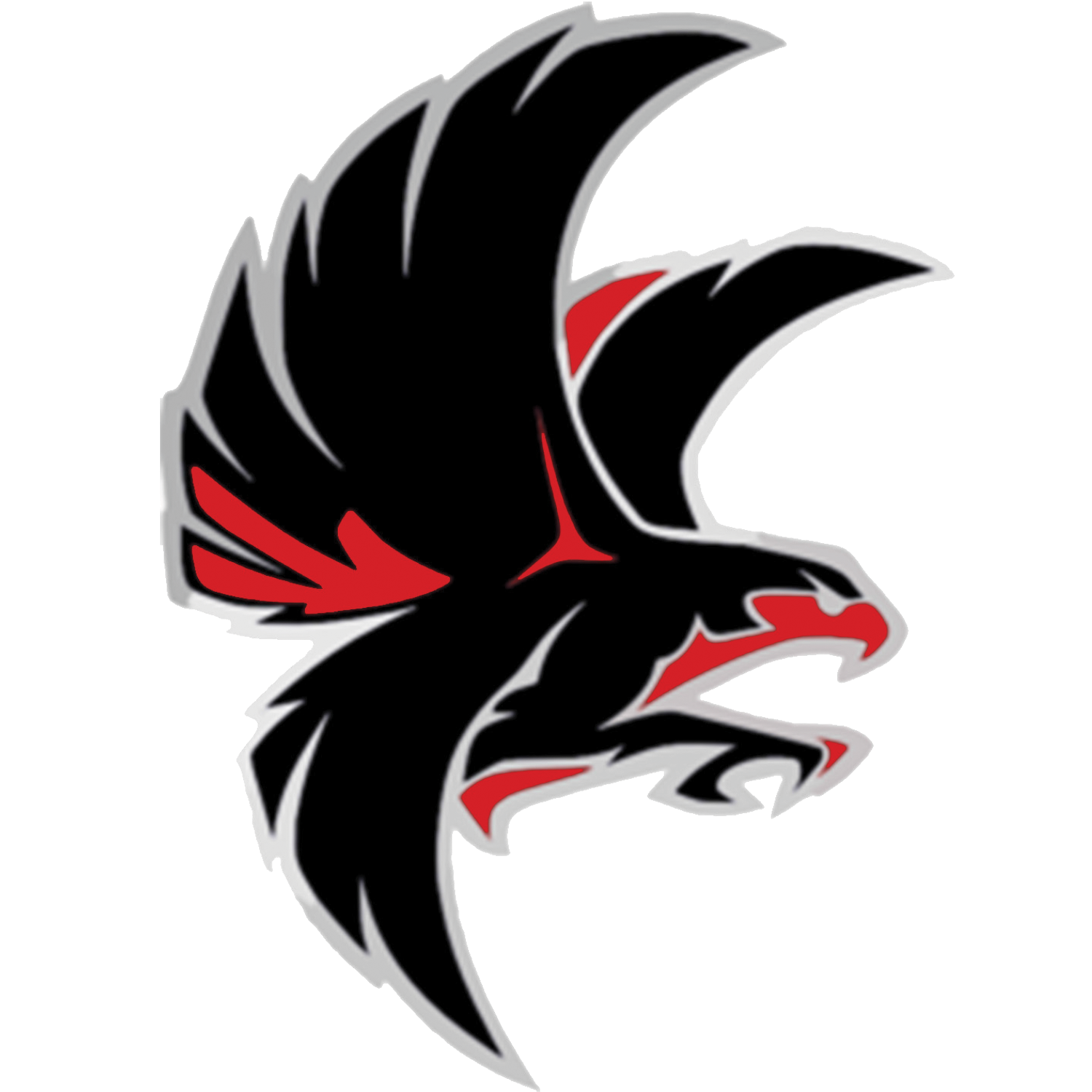Falcon clipart falcon football. School mascot pinterest logos