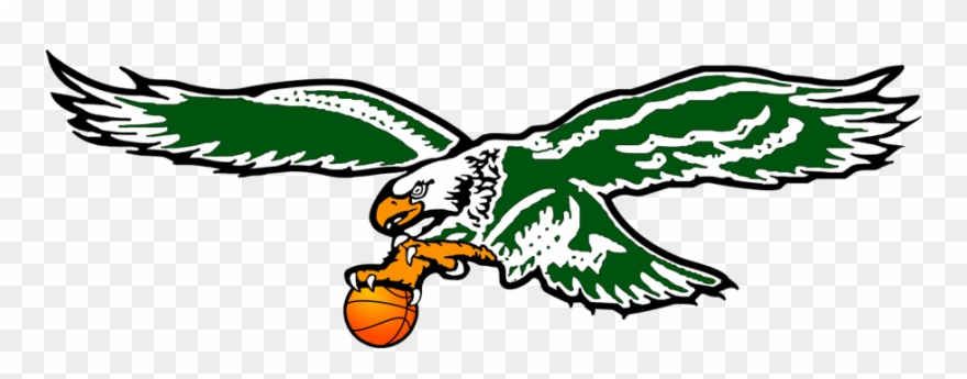 Philadelphia eagles logo . Falcon clipart basketball