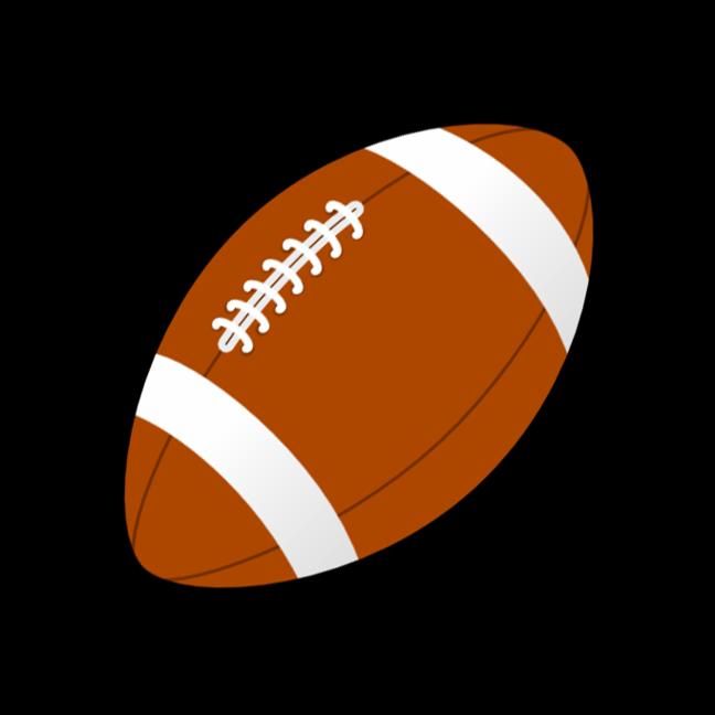 Football clipart cute. Ball american pencil and