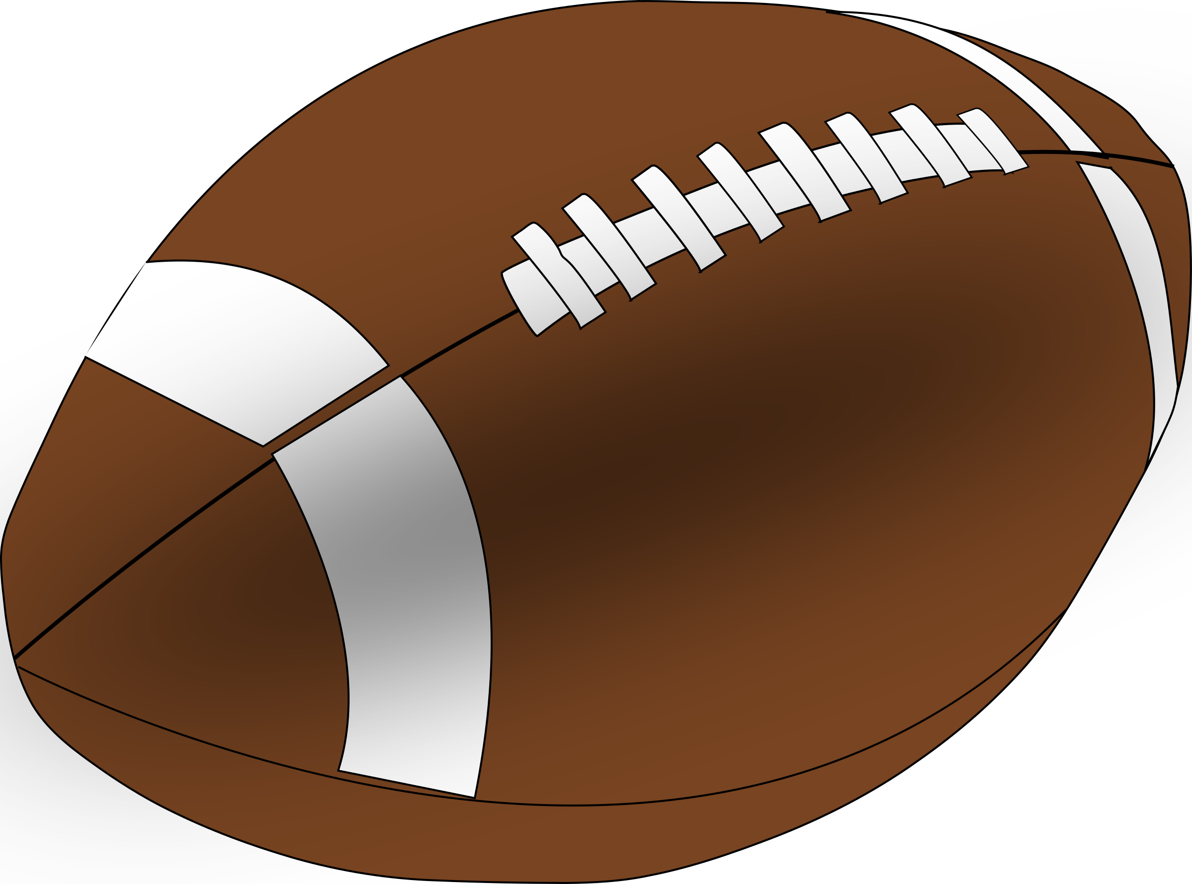 Football clipart thing. American big image png