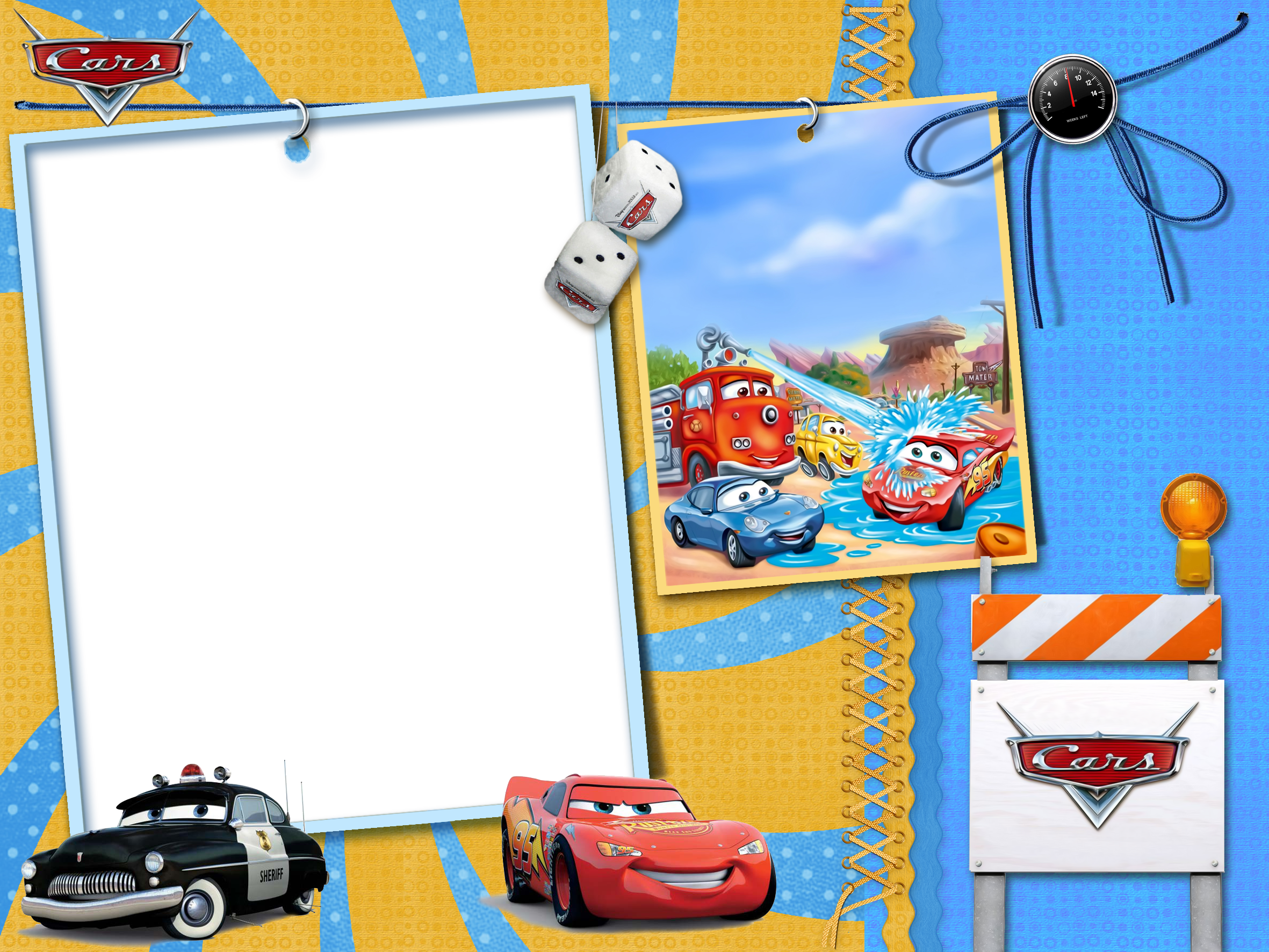 Kids transparent photo gallery. Clipart cars frame