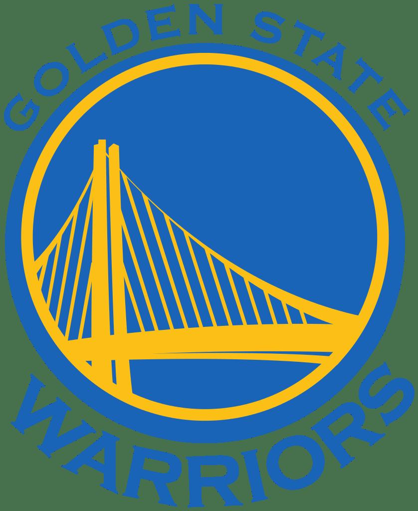 Golden state warriors logo. Warrior clipart blue