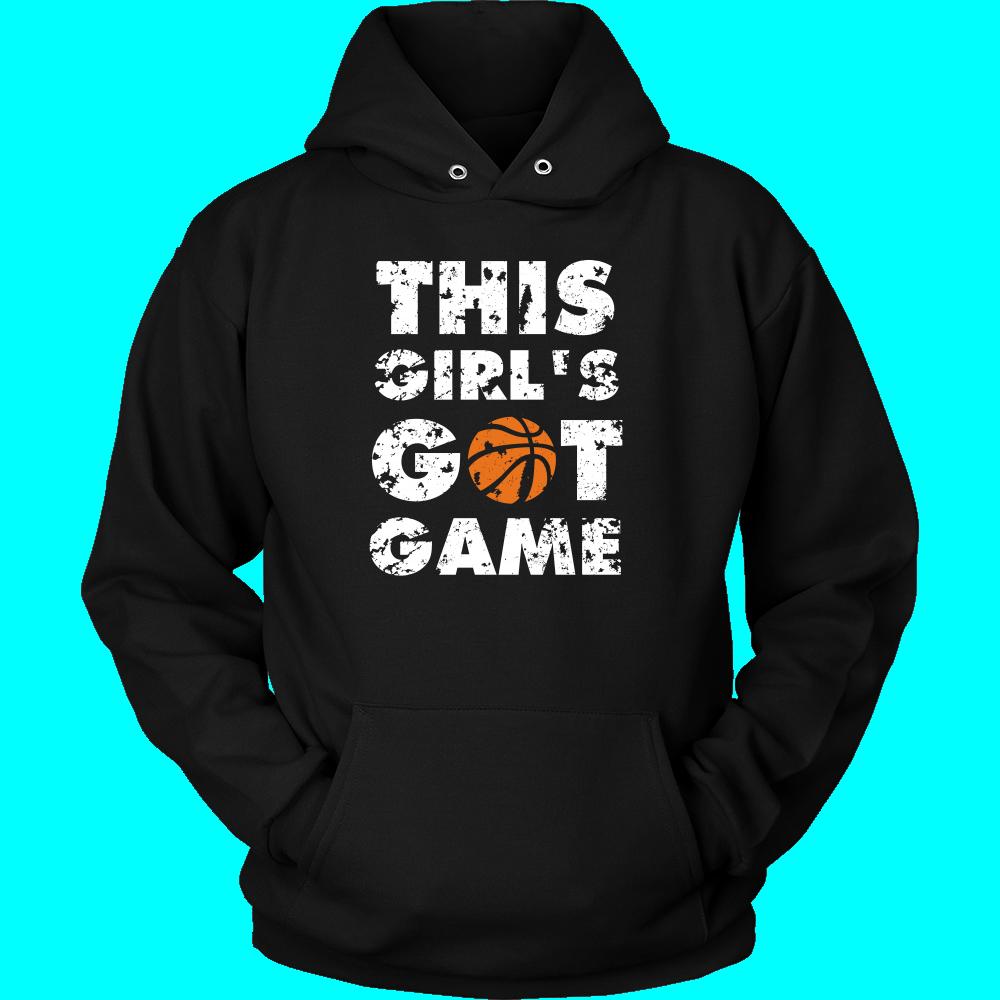 Clipart basketball grey. T shirt this girl