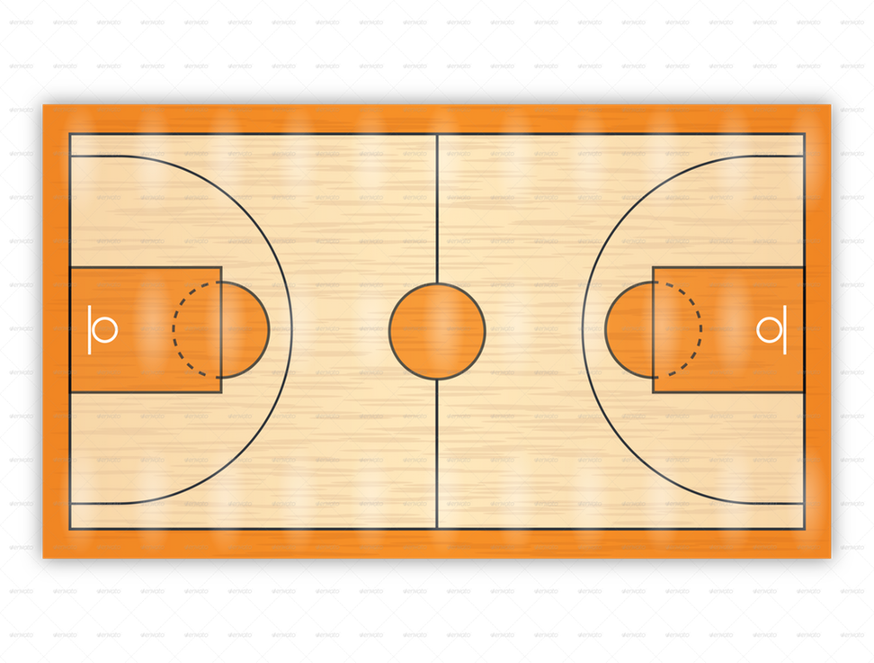 Ground clipart basketball. The court thinglink clipgoo