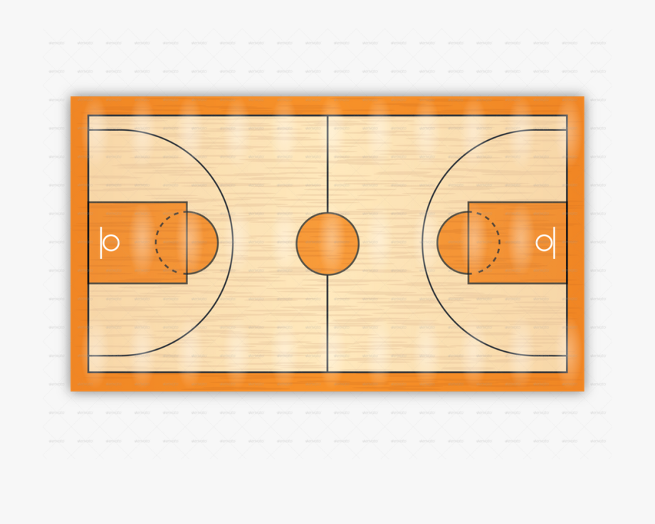 Clipart basketball ground. Excellent indoor court with