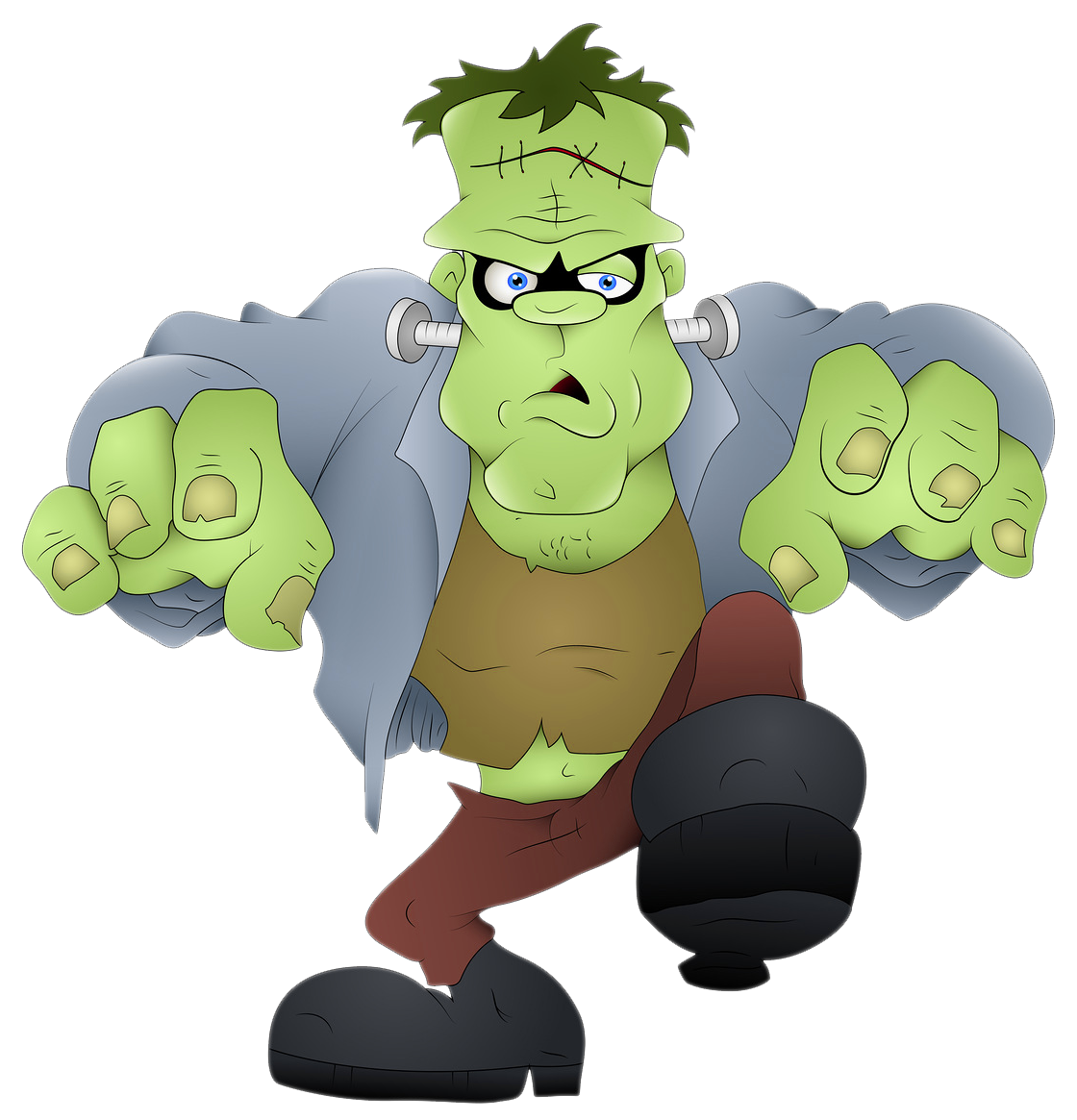 Foot clipart frankenstein. Png picture gallery yopriceville