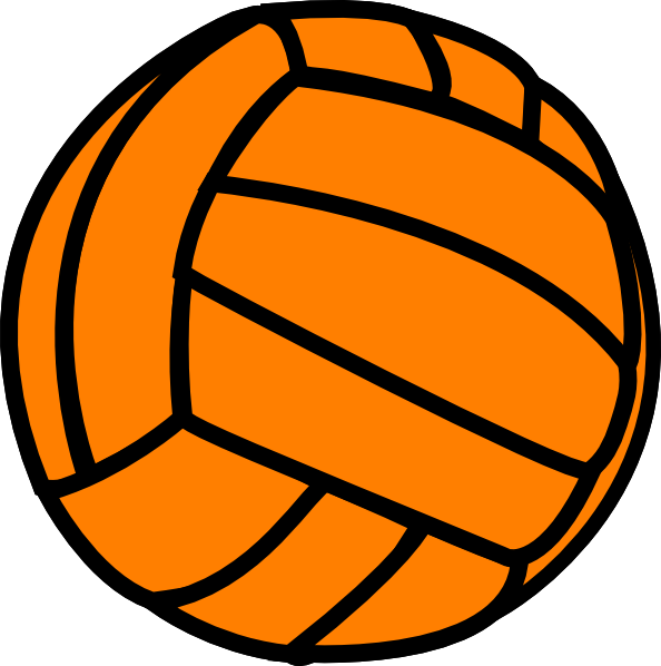 Clipart volleyball vector. Picture of free download