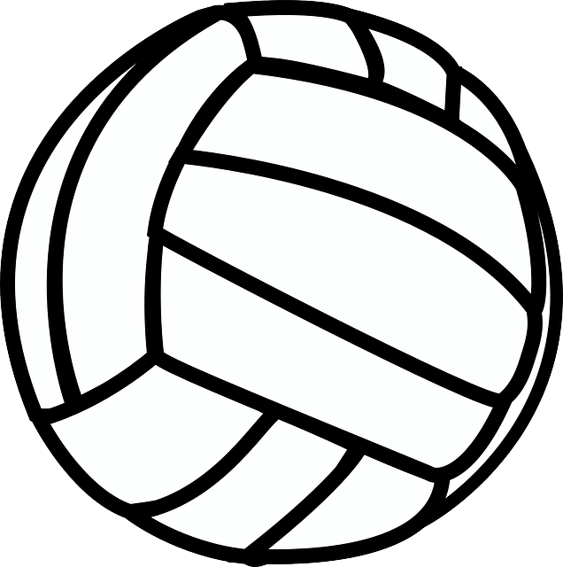 Clipart volleyball dad. Free image on pixabay