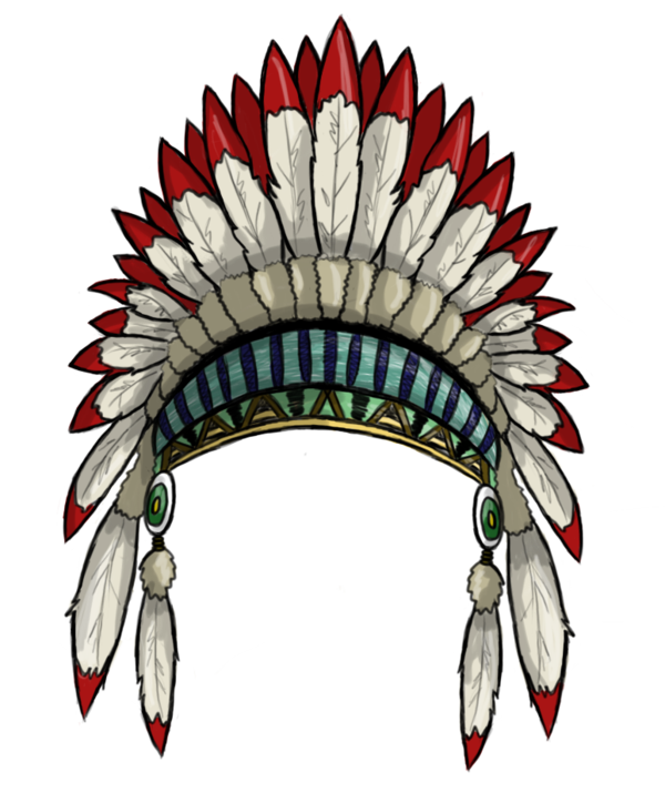 Headband group. Feather clipart artistic