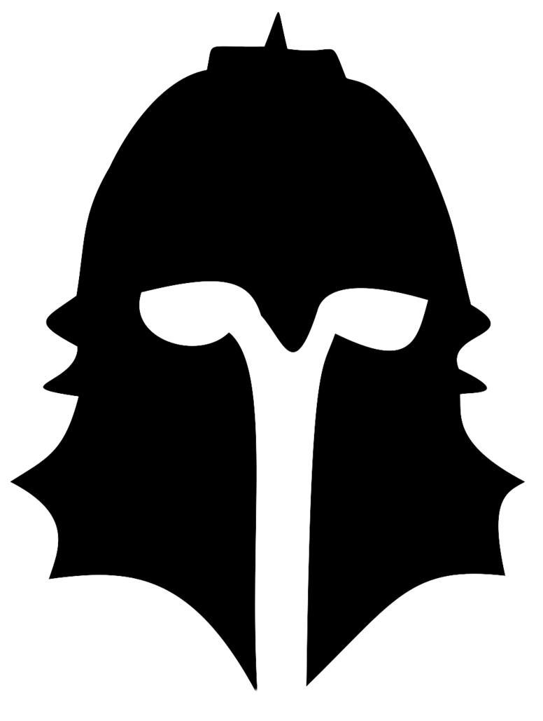 Knights clipart silhouette. Of a knight at