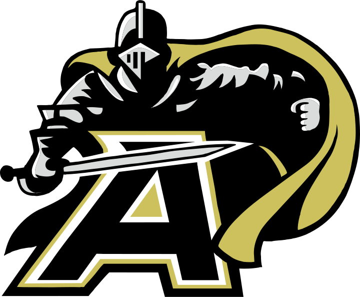 Army black knights logo. Number 1 clipart collegiate
