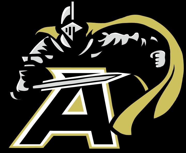 Poppy clipart army. Black knights logo sports