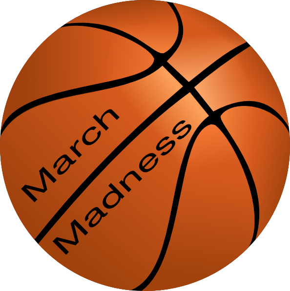 Basketball clipart march madness. Clip art at clker