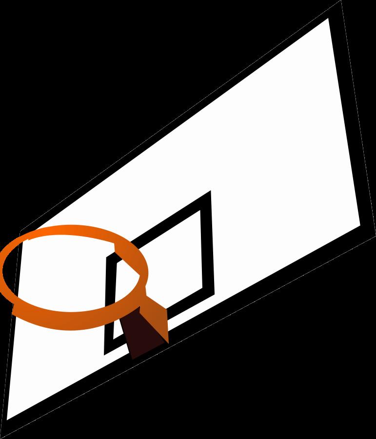 collection of basketball. Goals clipart cartoon