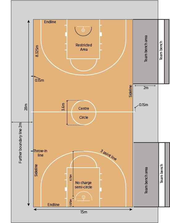 Basketball . Court clipart covered court