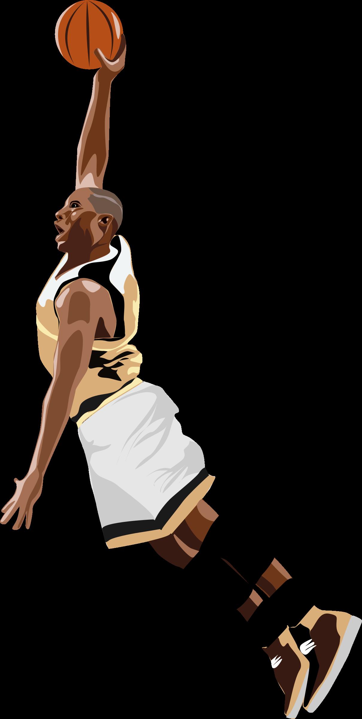 Slamdunk big image png. Clipart person basketball