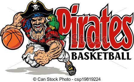 Pin by earl ferguson. Pirates clipart basketball