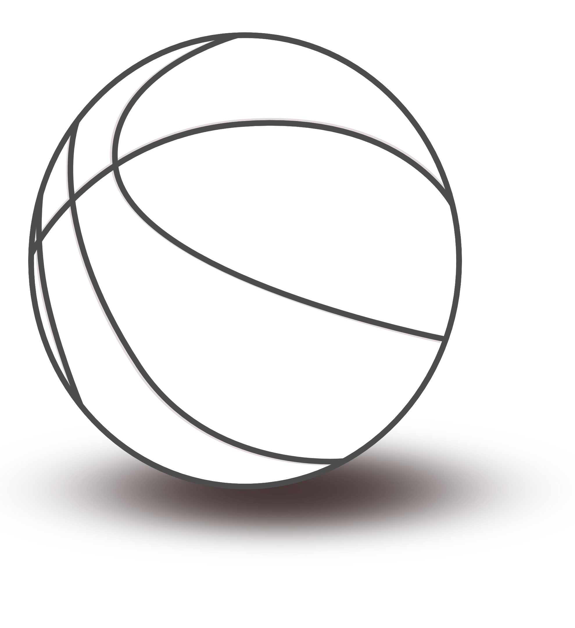 Clipart shield basketball. Black and white panda